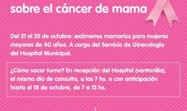 Mes de la sensibilización sobre el cáncer de mama