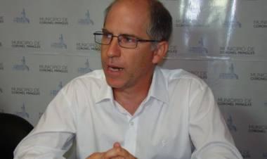 El intendente Matzkin anunció que donará su próximo sueldo a un fondo para comprar alimentos