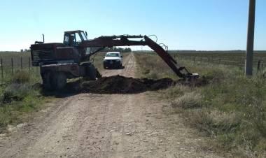 El Municipio cierra más caminos vecinales