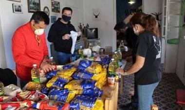 La Cámpora tuvo su sábado de Jornada Solidaria en Pringles