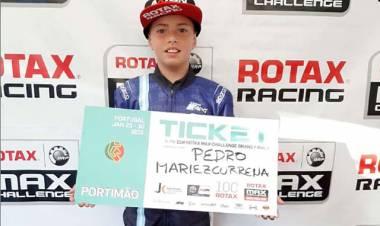 Pedro Mariezcurrena clasificó al Mundial de Portugal