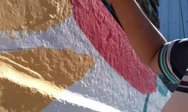 Mural en Plazoleta del Cooperativismo
