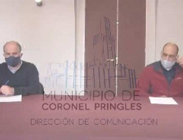 Primer caso positivo de COVID-19 en Coronel Pringles