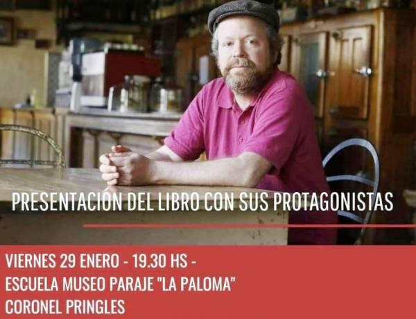 Leandro Vesco presentará en Pringles su último libro