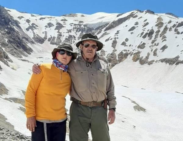 Travesía en los Andes: la emoción de padre e hija al visitar los restos del avión uruguayo