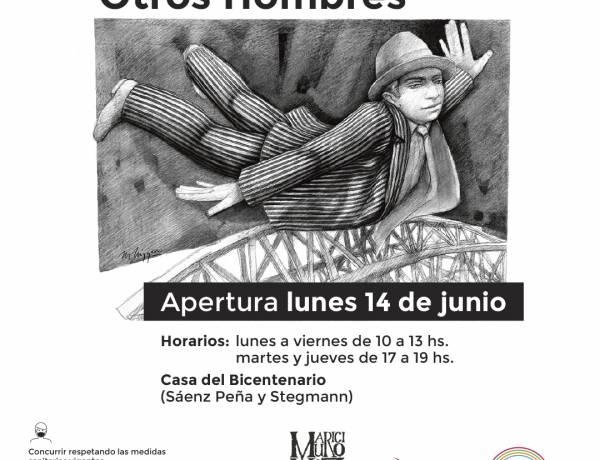 """La exposición itinerante """"Otros Hombres"""", del artista Mauricio Nizzero, llega a Casa del Bicentenario"""