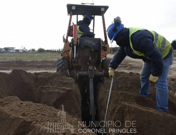 Avance de obras en lotes del Plan Nacional de Suelo Urbano