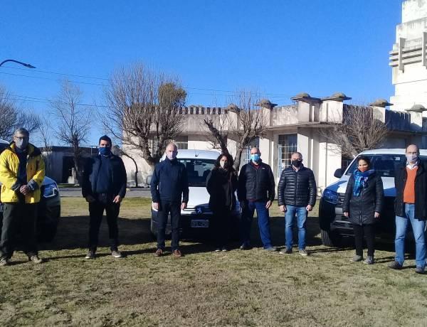 El Municipio incorporó nuevos vehículos para distintas áreas municipales