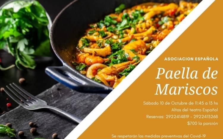 Paella de Mariscos en la Asociación Española