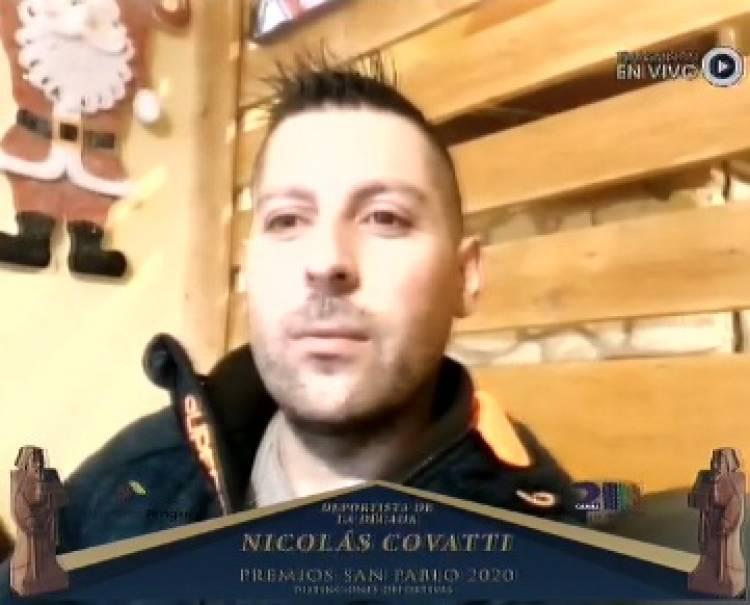 San Pablo 2020: El deportista destacado de la Década es Nicolás Covatti