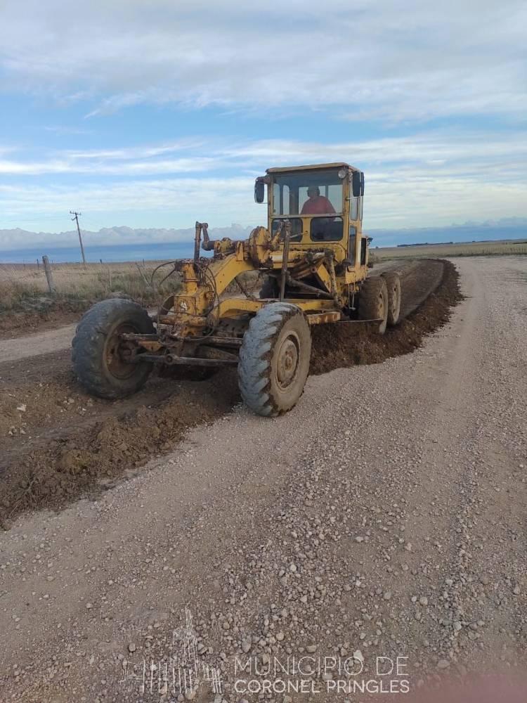 Continúan lo arreglos de Caminos rurales del distrito