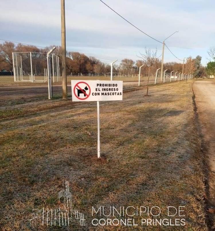 Prohibido el ingreso de perros al Balneario